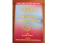 * free * The truth about Jesus: a Muslim perspective booklet about religion Islam God Life