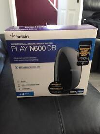 Belkin Play N600 DB ASDL Router