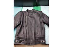 Frank Thomas Motorcycle Leather Jacket (44) & Trousers (34)