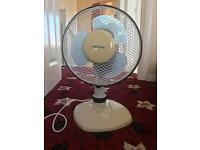 Fan cold air