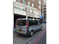 2007 Vauxhall Vivaro 9seater £3100