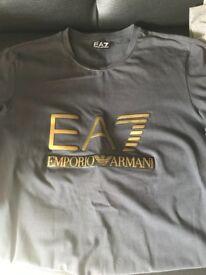 Small men's Emporio Armani long sleeved top