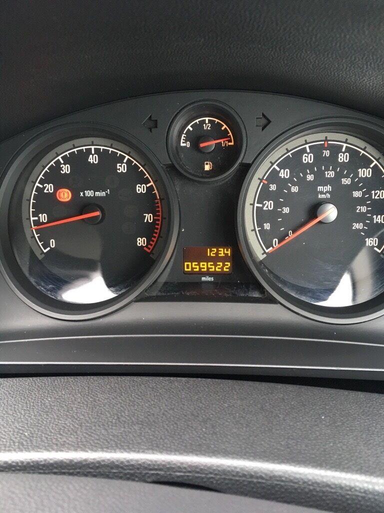 Vauxhall zafira 1.6 life