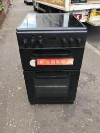 Black ceramic top cooker £99 guaranteed working but could do with a wee clean