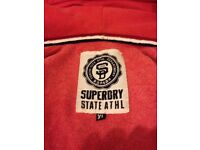 superdry mens nearly new xl zip up hoodie