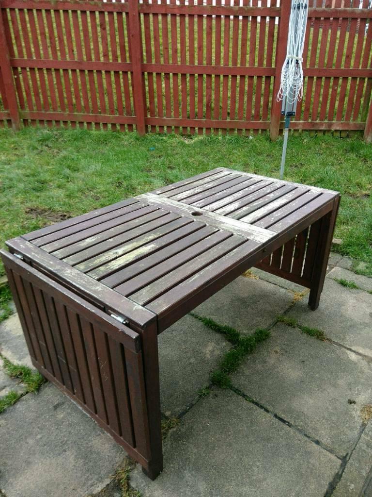 Ikea applaro outdoor table