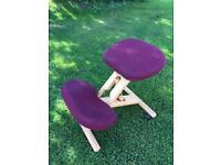 Posture Wooden Kneeling Stool/Chair