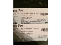 Noel Gallagher High Flying Birds tickets x2 Glasgow Hydro.
