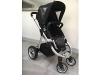 Icandy apple pushchair with rain cover