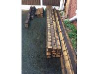 Decking Base Frame Wood