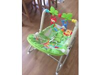 Fischer price 2-1 infant to toddler rocker