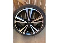 "20"" Vauxhall Insignia Diamond Cut Alloy Wheel"