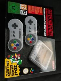 Brand New boxed and unopened SNES mini