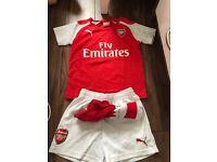 Arsenal strip age 5-6