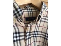 Burberry's boys shirt age 10 years £30