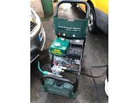 Parkside petrol pressure washer