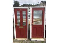 Front & rear exterior doors