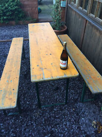 Beer Festival Tables