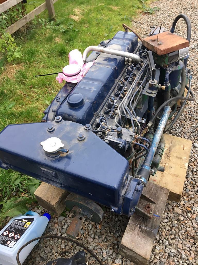 Perkins 6354 marine engine, 500hrs.