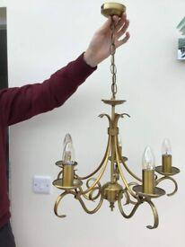 Hanging Brass Ceiling Light