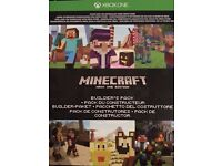 (XBOX ONE GAME) Minecraft full game with favourites pack and lots of add ons!