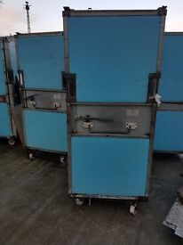 Thermotainer (Insulated roll container) for chilled or frozen