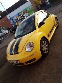 VW Beetle 56' Yellow & Black