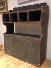 Vintage Bohemian Shelving Unit