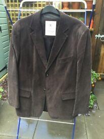 Mans Casual Jacket. M & S Blue Harbour