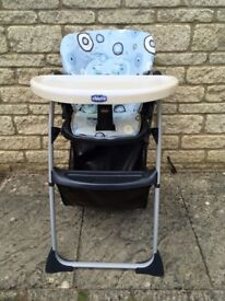 CHICCO high chair. Local delivery available. Feeding chair. Happy Snack. CHEAP!!