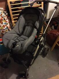 Pushchair / Pram / car seat combo by Bebe confort