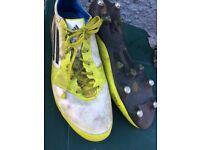 Adidas adizero rugby boots size 12 £8