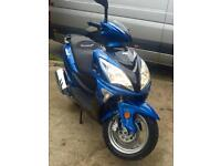 2016 Lexmoto FMS 125cc scooter moped