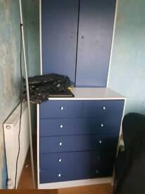 FREEWardrobe chest of draws desk
