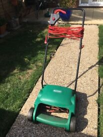 Lawn mower electric Qualcast cylinder