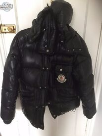 Genuine Moncler Down Jacket, Perfect Condition