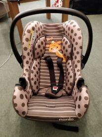 Nania Driver Giraffe Car Seat Group 0 1