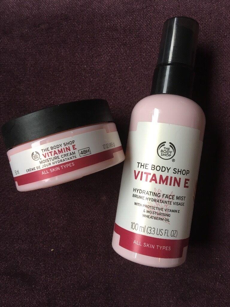 The Body Shop Vitamin E Duo