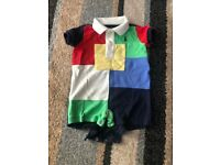 Ralph Lauren Polo all in one suit 3 Months age