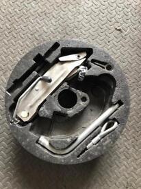 Audi Spare Wheel Jack Kit