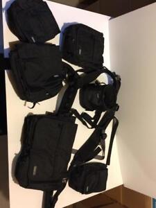 Think Tank shoulder harness and belt with 5 pouches