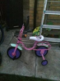 Girls little bike