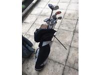 Golf clubs, set, bag