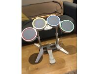 Drum Kit for Nintendo Wii Console (RockBand and Guitar Hero)