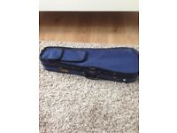 1/4 (quarter) size violin case (Stentor) - blue