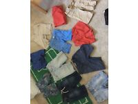 Bundle of boys summer clothes 4-6
