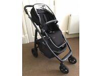 Uppababy Cruz 2015 Pushchair, Jake Black - One Careful Owner - In Excellent Condition