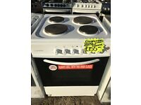 BUSH 60CM SOLID TOP ELECTRIC COOKER