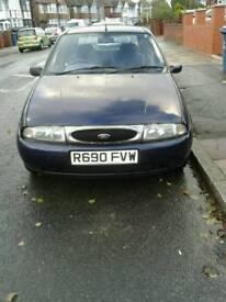 Ford Fiesta Ghia, year 1998, 167000 miles, 1388 cc, petrol