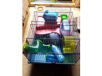 Hamster cages £15 each.